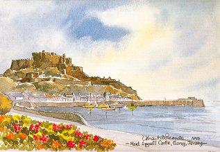 Mont Orgueil Castle 0857