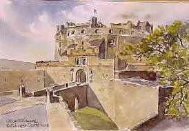 Edinburgh Castle Gateway 1003