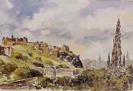 Edinburgh Skyline 1004