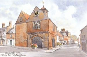 Town Hall, Watlington 1021