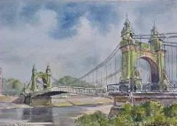 Hammersmith Bridge 1025