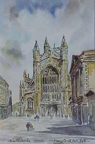 Abbey Church Yard 1037