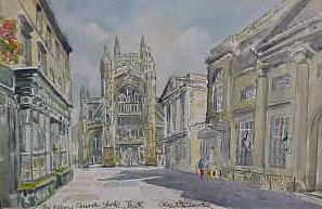 Abbey Church Yard, Bath 1043