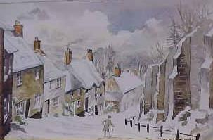 Gold Hill (Snow), Shaftesbury 1058