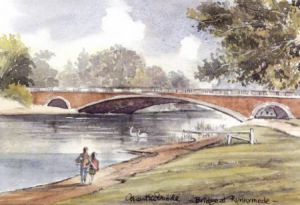 Bridge at Runnymede 1065
