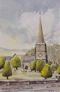 The Church, Painswick 1074