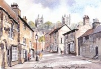 Up Steep Hill, Lincoln 1089