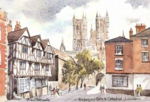 Exchequer Gate, Lincoln 1105