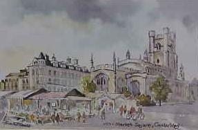 Market Square, Cambridge 1127