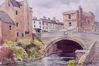 Baggot Street Bridge, Dublin 1215