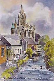 Truro Cathedral from the River 1244