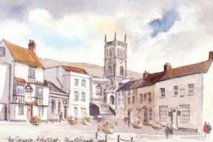 The Square, Axbridge 1246
