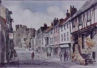 Castle Street, Conwy 1252