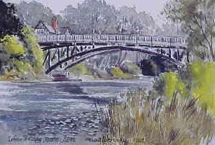 Irfon Bridge, Builth Wells 1263