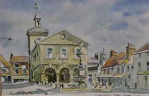 Market Square, Llandovery 0128