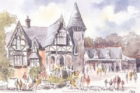 Alton Towers, Haunted House 1301