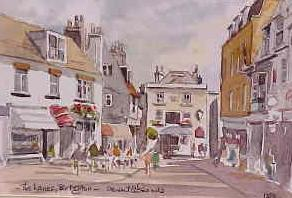 The Lanes, Brighton 1353