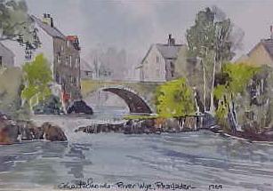 River Wye, Rhayader 1369