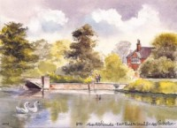 East Pond, Carshalton 1474