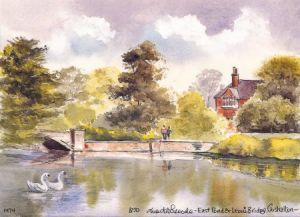East Pond, Carshalton 1474