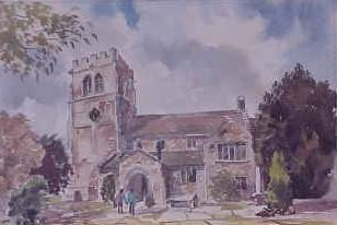 St Mary's Church, Nether Alderley 1525