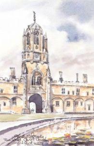 Tom Quad, Christchurch, Oxford 1539