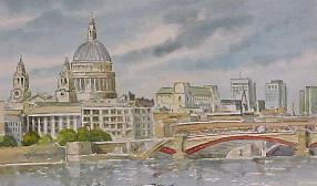 St Paul's from the Thames 0161