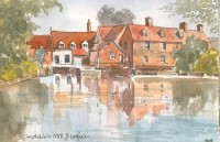 Constable's Mill, Flatford 1610
