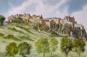 Edinburgh Castle 1641