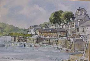 Town Quay, Salcombe 1646