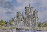 Bristol Cathedral 1658