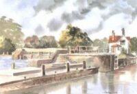 Goring Lock 1674