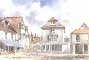 Butterwalk, Thame 1692