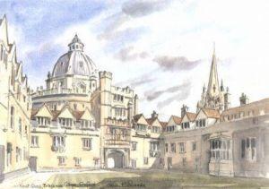 Brasenose College, Oxford 1703