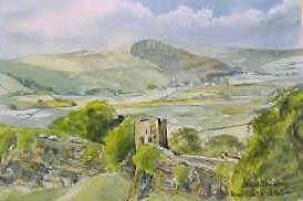 Peveril Castle, Castleton 1742