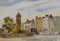 Clock Tower, Bangor 0182
