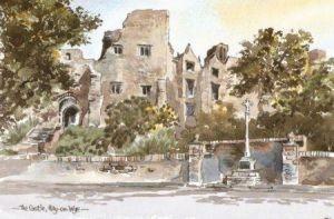 Castle, Hay-on-Wye 0201