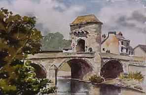 Monnow Bridge, Monmouth 0204