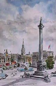 Nelson's Column, Trafalgar Square 0216