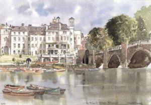 River and Bridge, Richmond 3099