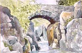 Birks Bridge, River Dudden 3165