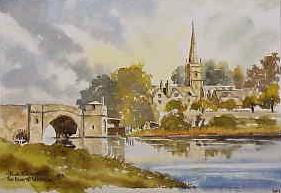 The River at Lechlade 0472