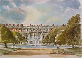 Hampton Court Palace, East Front 0506