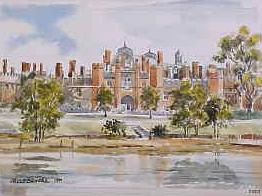 Hampton Court Palace, West Front 0507