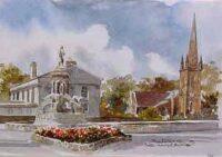 Crozier Monument, Banbridge 0537