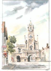 East Gate, Warwick 0552