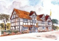 Shakespeare's Birthplace 0558