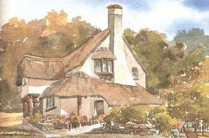 Cottage at Selworthy 0586