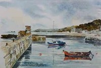Dunure Harbour, Ayrshire 0590