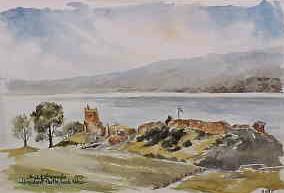 Urquhart Castle, Loch Ness 0595